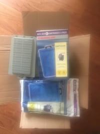 Large fish tank (HOB) filters and supplies