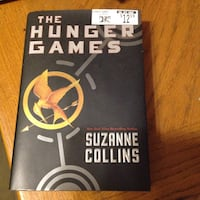 black and white The Hunger Games by Suzanne Collins book New Brighton, 55112
