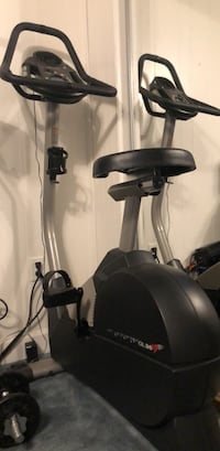 black and gray stationary bike Alexandria, 22315