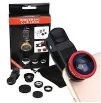 Universal clip lens with box set.   New York, 11229