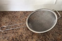 Large Stainless Steel Sifter Barrie