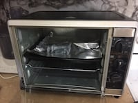 black and gray gas range oven Coquitlam, V3C 4J6