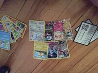 assorted Pokemon trading card collection Montréal, H8R 2A7