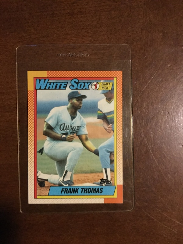 Frank Thomas Rookie Card Topps