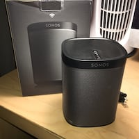 Sonos Play:1 in black Toronto, M6E