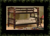 Twin wooden bunkbed frame  Ashburn, 20147