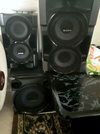 Sony speakers and subwoofer Peterborough, K9J 5R9