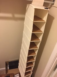 High quality like new closet organizer $10 Fairfax, 22032