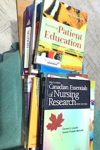 Nursing books. Graduated brock 2019. Selling all together + turn it in