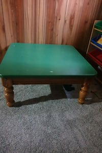 green and brown wooden table Edmonton, T5E 3M6