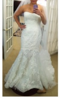 Enzoani Lace Wedding Dress Silver Spring, 20906