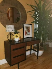Mid Century Writing Desk Sherwood Park, T8B 1J1