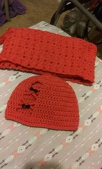 red and black knit cap Madison, 44057