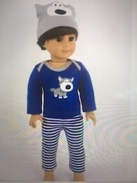 18 in boy doll pjs set NEW  Herndon, 20171