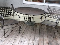 outdoor table and chairs Coquitlam, V3J 4B5