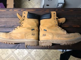 Timberland pro series work boots size 12