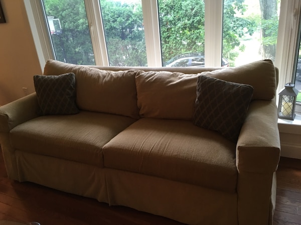 Used Ethan Allen Sofa And Loveseat For Sale In Hastings On Hudson