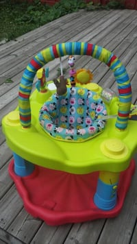 baby's green and blue activity saucer Brampton, L6T