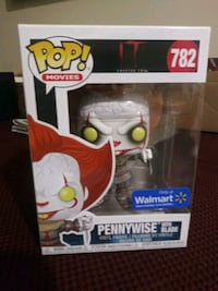 Pennywise with knike Walmart exclusive Funko Pop Alpharetta