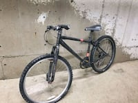 black and red hardtail mountain bike Burnaby, V5E 3J5