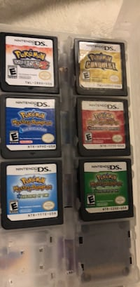 six assorted Nintendo DS game cartridges Barrie, L4M 5K5