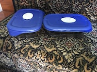 pair of blue plastic food container Ashburn