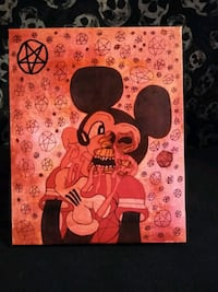 Ripping off face Mickey artwork by Salem Albuquerque, 87108