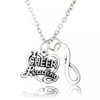 Silver Cheerleading Necklaces - 3 to choose from! $4 each!