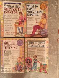 5 total What to expect when your expecting book seies lot of 5 Orange Park, 32065