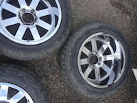 275/55/20 GRIPPER TIRES WITH 20 IN MOTO METAL RIMS Hollister, 95023