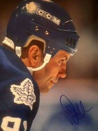 Doug Gilmour signed 8x10 photo PROOF