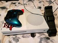 white Xbox One console with controller Edmonton, T5X 1T2