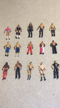 Wwe character action figures Valrico, 33594
