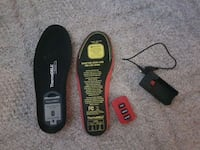 Therma cell heated insoles. Brand new used once Coquitlam, V3J 4G2
