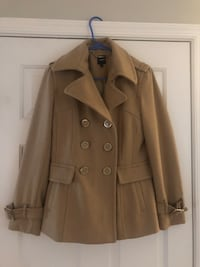Express Women's Peacoat- S