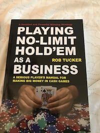 Texas holdem Books $20 each Pickering, L1V 5V6