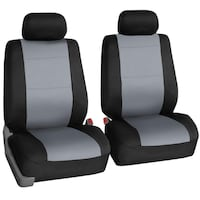 FH Group FB083GRAY115 Full Set Seat Cover Toronto