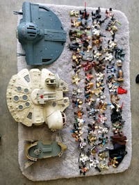 Star Wars Mini Action Figures & Space Ships