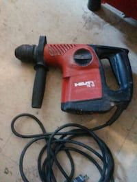 black and red Hilti corded power drill Toronto, M5R 1J8