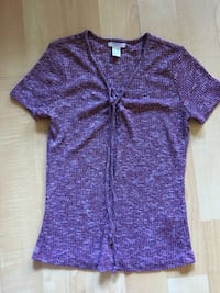 Ladies Streetwear Society burgundy knit top, Med $5 Mississauga, L5L 5P5