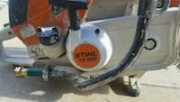 white and black Stihl chainsaw Denver