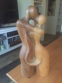 Stunning wood sculpture