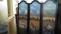 Bifold wardrobe door.  Hand painted on both sides.  Excellent condition. Hagerstown