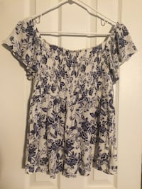 On or Off-the-Shoulder Blouse Falls Church