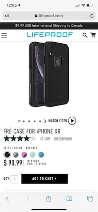 Lifeproof case for iphone XR brand new $15 Toronto, M1E 4J4