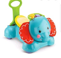 Fisher price 3-in-1 stride along elephant Vaughan, L4J 2N8