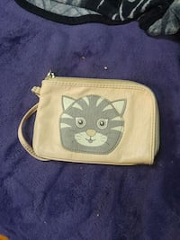 Small pink cat wallet 591 km