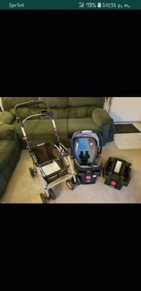 baby's black and gray travel system Fairfax, 22031