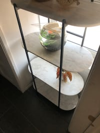 Marble 4 tier shelving  West Hollywood, 90069