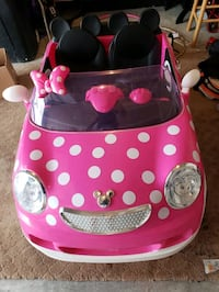 $145 Minnie mouse power car with battery  Silver Spring, 20902